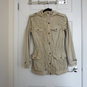 Jackets & Blazers - ARITZIA TALULA Light Olive Trooper Jacket